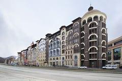 Gorky Gorod apartments in Esto Sadok Stock Photo