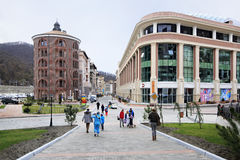 Gorky Gorod Resort in Esto Sadok Stock Images