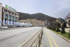Gorky Gorod Resort in Esto Sadok Stock Images