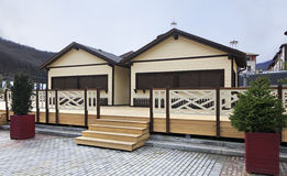 Gorky Gorod Resort in Esto Sadok Royalty Free Stock Photo