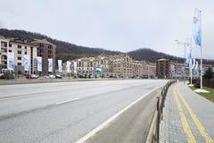 Gorky Gorod Resort in Esto Sadok Royalty Free Stock Photography