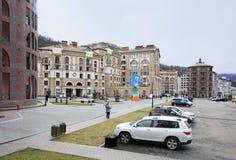 Gorky Gorod Resort in Esto Sadok Stock Photo