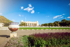 Gorky Park in Moscow in Autumn Royalty Free Stock Image