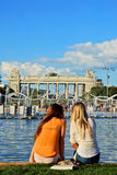 The Gorky Park, Moscow, Russia Royalty Free Stock Image