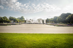 Gorky Park in Moscow Stock Images