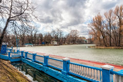 Gorky Park in Winter Stock Images