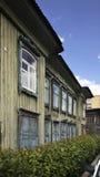 Gorky street in Krasnoyarsk. Russia Royalty Free Stock Photography