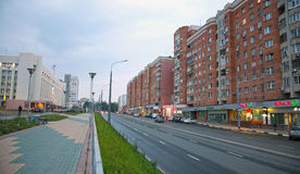 Gorky street after repair Royalty Free Stock Photo