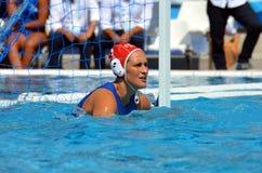 GORLERO Giulia (ITA, 1) is the goalkeeper of Italy. Royalty Free Stock Photo