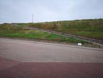 Gorleston峭壁在诺福克 免版税库存照片