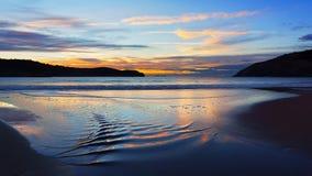 Gorliz和Plentzia海滩 免版税库存图片