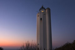 Gorliz lighthouse Royalty Free Stock Photo