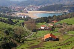 Gorliz and Plentzia villages Royalty Free Stock Photography