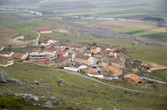 Gormaz from the Castle. In Soria, Spain Royalty Free Stock Photography