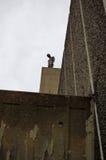 Gormley雕象,海沃德画廊,伦敦 免版税库存图片