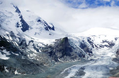 Gorner冰川 免版税库存图片