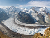 Gorner Glacier (Gornergletscher), Switzerland Royalty Free Stock Photo