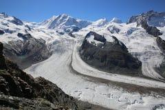 Gorner Glacier Royalty Free Stock Photography