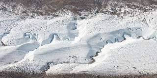 Gorner Glacier, Switzerland Stock Photography
