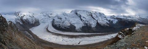 Gorner Glacier Royalty Free Stock Images