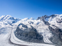 The Gorner Glacier Royalty Free Stock Photography