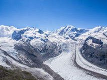 The Gorner Glacier Royalty Free Stock Images