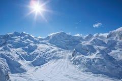 Gornergrad Switzerland Zdjęcie Royalty Free