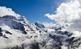 Gornergrat Bahn, Zermatt, Zwitserland Stock Fotografie