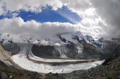 Gornergrat glacier Stock Image