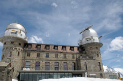 Gornergrat observation station Royalty Free Stock Photography