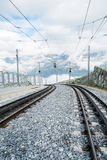 Gornergrat railway Stock Photos