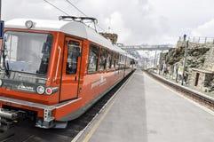 Gornergrat train station royalty free stock images