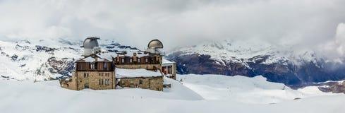 Gornergrat, Zermatt, die Schweiz Stockbild