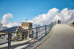 Gornergrat Zermatt, die Schweiz, Schweizer Alpen Stockfoto