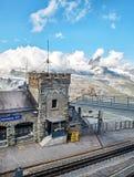 Gornergrat Zermatt, die Schweiz, Schweizer Alpen Stockfotos