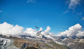 Gornergrat Zermatt, Suisse, Alpes suisses Photographie stock libre de droits