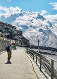 Gornergrat Zermatt, Suisse, Alpes suisses Photo libre de droits