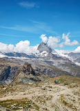 Gornergrat Zermatt, Suisse, Matterhorn Photo stock