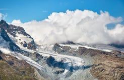 Gornergrat Zermatt, Svizzera, alpi svizzere Immagini Stock Libere da Diritti