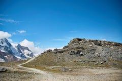 Gornergrat Zermatt, Svizzera, alpi svizzere Immagine Stock Libera da Diritti