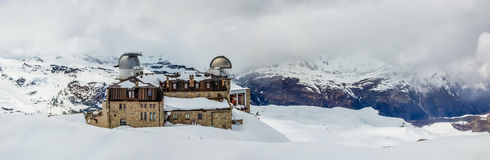 Gornergrat, Zermatt, Switzerland Stock Image