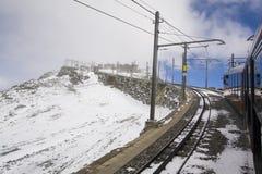 Gornergratbahn Arkivfoto