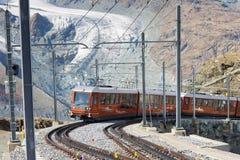 Free Gornergratbahn On Its Way To Gornergrat Summit Stock Images - 21829194