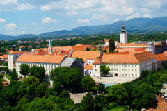 Gornji Grad, Zagreb, Croatia Stock Photography