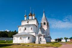 Gorokhovets, Vladimir-gebied De zomerdag in het klooster drievuldigheid-St Nicholas Cathedral stock afbeelding