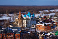 Gorokhovets in winter. Russia Stock Photography