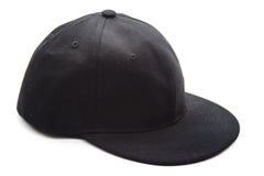 Gorra de béisbol negra Fotografía de archivo