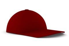 Gorra de béisbol en el fondo blanco Fotografía de archivo