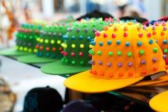 Gorras de béisbol Fotos de archivo libres de regalías
