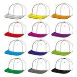 Gorras de béisbol Imagen de archivo libre de regalías